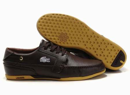 774a789eafb Chaussures Lacoste Homme Cuir