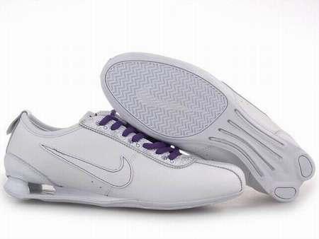 Chaussure Nike Shox Blanc