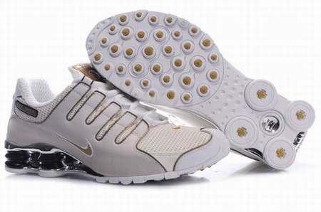 Nike Shox Rivalry Noir Et Or